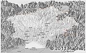 Gray Panoramic Map of Dibang Valley (Anni)