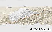 Classic Style Panoramic Map of Tirap
