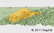 Savanna Style Panoramic Map of Tirap