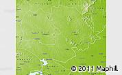 Physical Map of Dumka (Santal Pargana)
