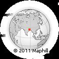 Outline Map of Dumka (Santal Pargana)