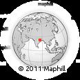 Outline Map of Gumla