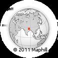 Outline Map of Muzaffarpur