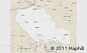 Classic Style 3D Map of Palamu (Daltenganj)