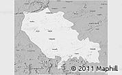 Gray 3D Map of Palamu (Daltenganj)
