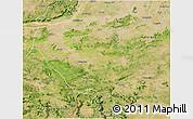 Satellite 3D Map of Palamu (Daltenganj)