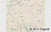 Shaded Relief 3D Map of Palamu (Daltenganj)