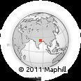 Outline Map of Palamu (Daltenganj)