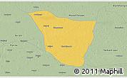 Savanna Style 3D Map of Vaishali