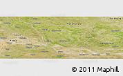 Satellite Panoramic Map of Vaishali