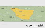 Savanna Style Panoramic Map of Vaishali