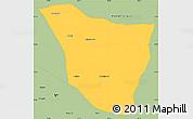 Savanna Style Simple Map of Vaishali