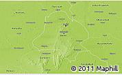 Physical 3D Map of Delhi