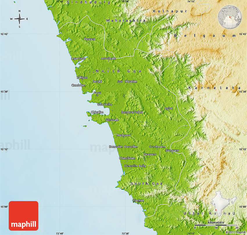 Physical map of goa gumiabroncs Images