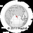 Outline Map of Goa