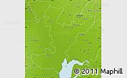 Physical Map of Ahmadabad