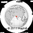 Outline Map of Kheda