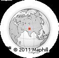 Outline Map of Ambala