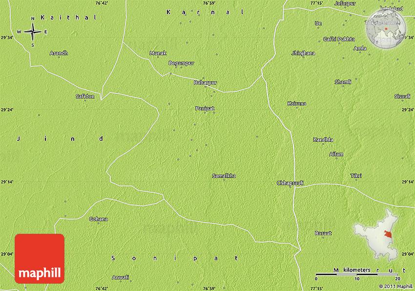Panipat Map