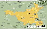 Savanna Style Panoramic Map of Haryana