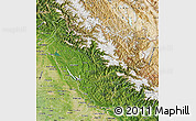 Satellite Map of Himachal Pradesh