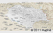 Classic Style Panoramic Map of Himachal Pradesh