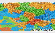 Political Panoramic Map of Himachal Pradesh
