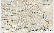Shaded Relief 3D Map of Jammu and Kashmir