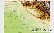 Physical 3D Map of Jammu