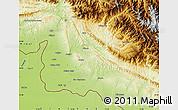 Physical Map of Jammu