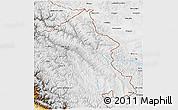Physical 3D Map of Ladakh (Leh)