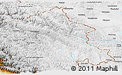 Physical Panoramic Map of Ladakh (Leh)