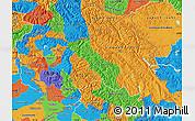 Political Map of Jammu and Kashmir