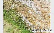 Satellite Map of Jammu and Kashmir