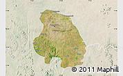 Satellite Map of Bangalore Urban, lighten