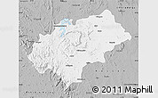 Gray Map of Chikmagalur