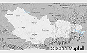 Gray 3D Map of Mysore