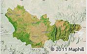 Satellite Map of Mysore, lighten