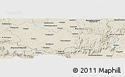 Shaded Relief Panoramic Map of Mysore