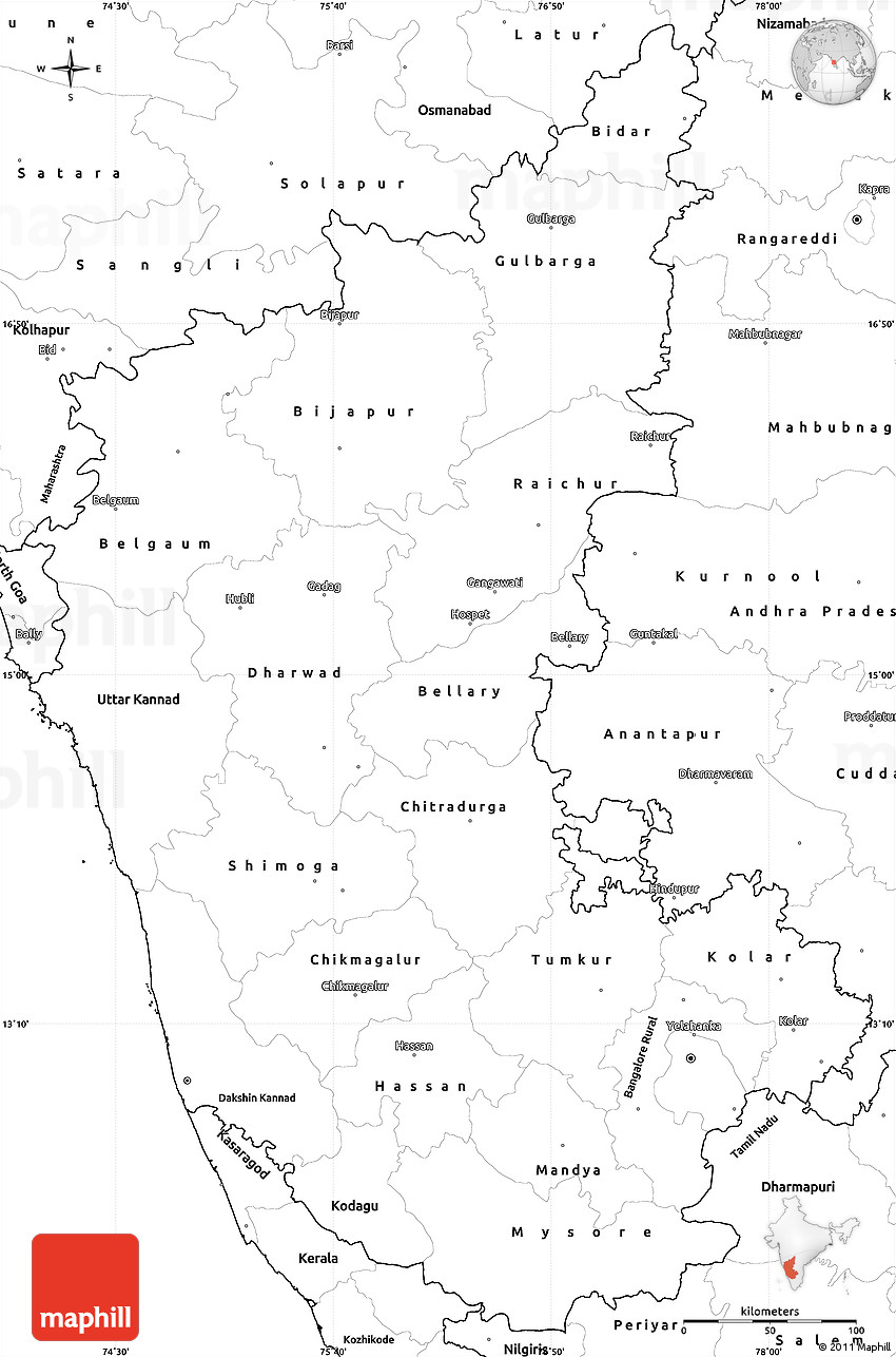 Outline map of africa with latitude and longitude blank inside blank simple map of karnataka blank world map outline with latitude and longitude gumiabroncs Choice Image