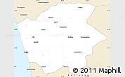 Classic Style Simple Map of Ernakulam