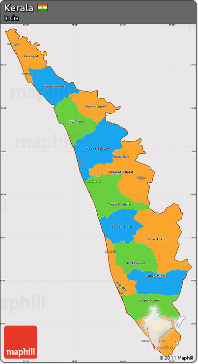 kerala map pdf free download