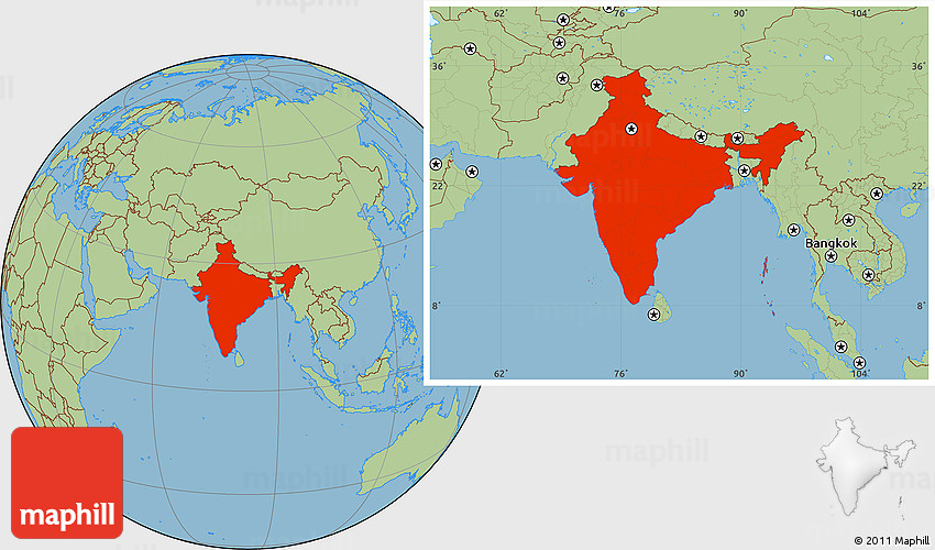 savanna style location map of india. Black Bedroom Furniture Sets. Home Design Ideas
