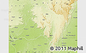 Physical Map of Balaghat