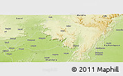 Physical Panoramic Map of Balaghat