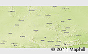 Physical Panoramic Map of Bhopal