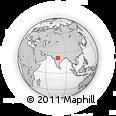 Outline Map of Hoshangabad