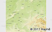 Physical 3D Map of Jabalpur