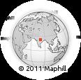 Outline Map of Jabalpur