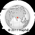 Outline Map of Mandla